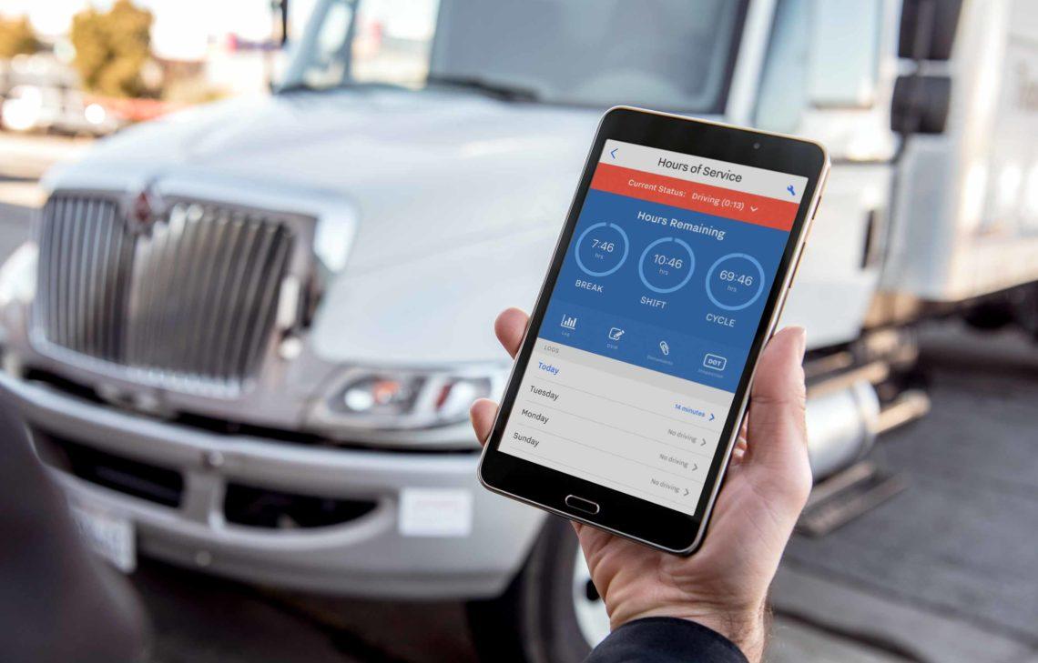Samsara ELD 2020 on Tablet Device
