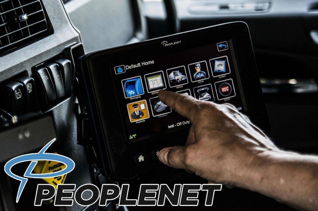 PeopleNet ELD Inside a Vehicle