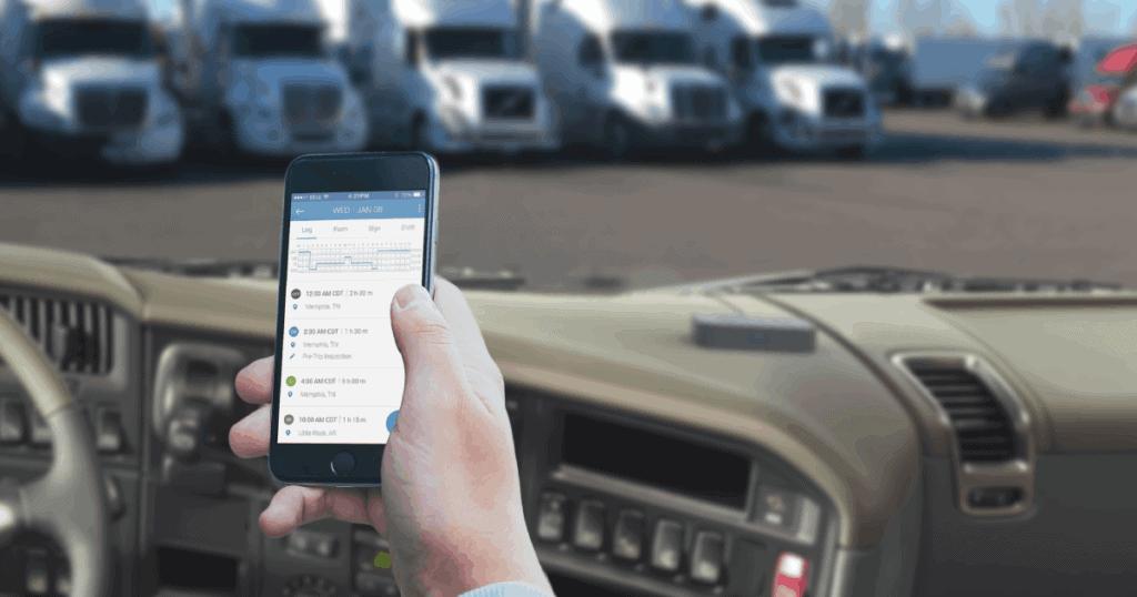 VisTracks ELD on Mobile Device
