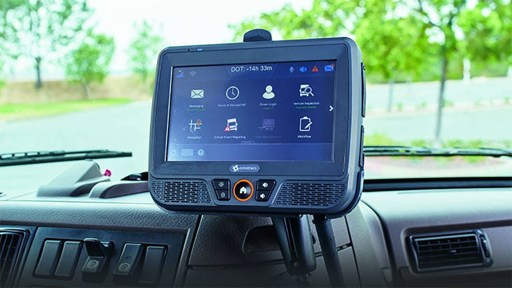Qualcomm ELD Inside a Vehicle